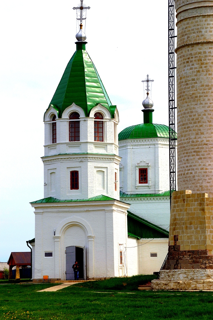 A view of Uspenskaya Church from the west