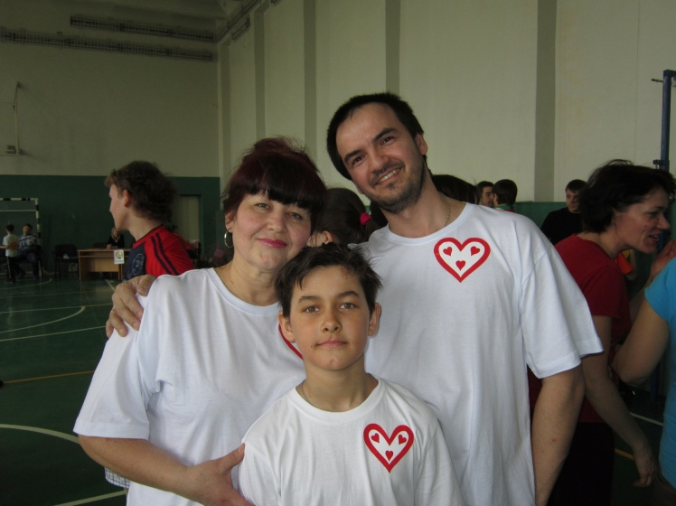Albert and his wife adopted this boy through the organization.
