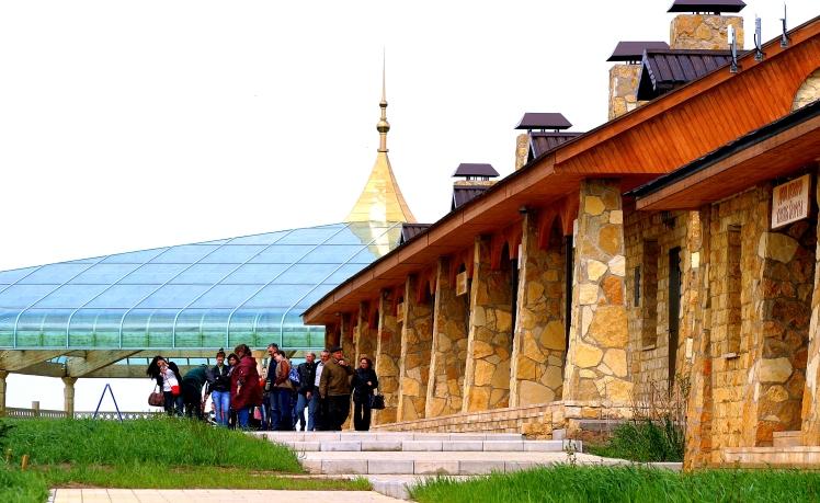 Looking north toward Khan's Palace