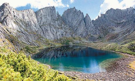 Lost world: The Dusse-Alin mountain range