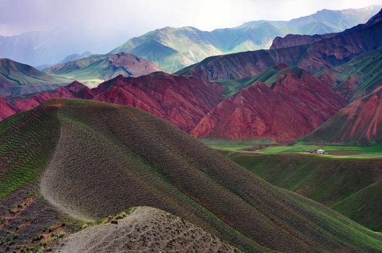 Kirghizia Landscape