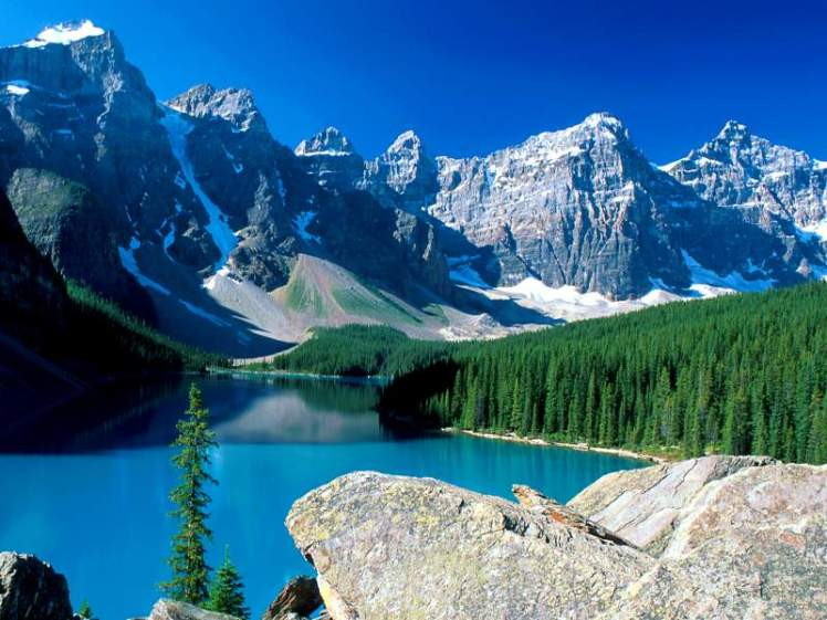 Moraine Lake, Canadian Rockies