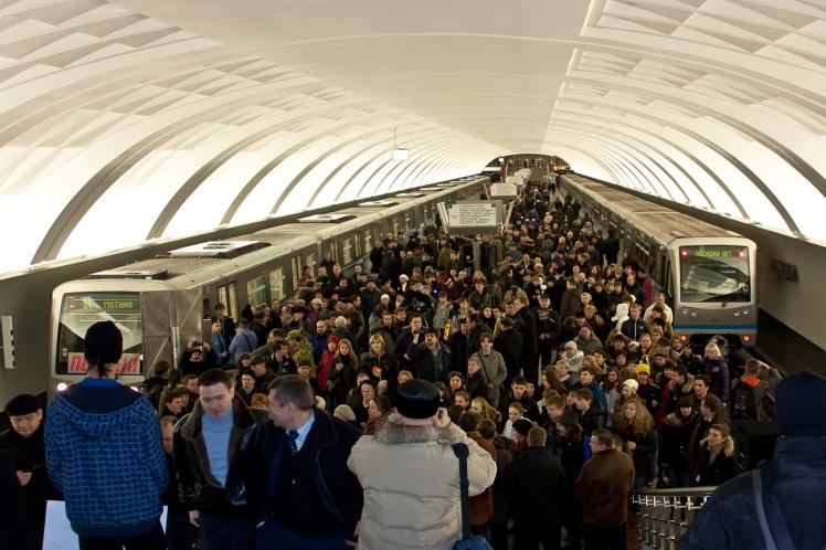 Moscow- Metro 17