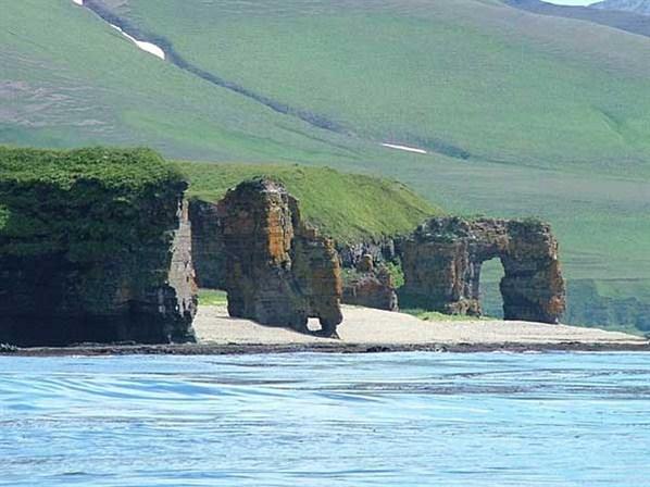Coastline of Kamchatka