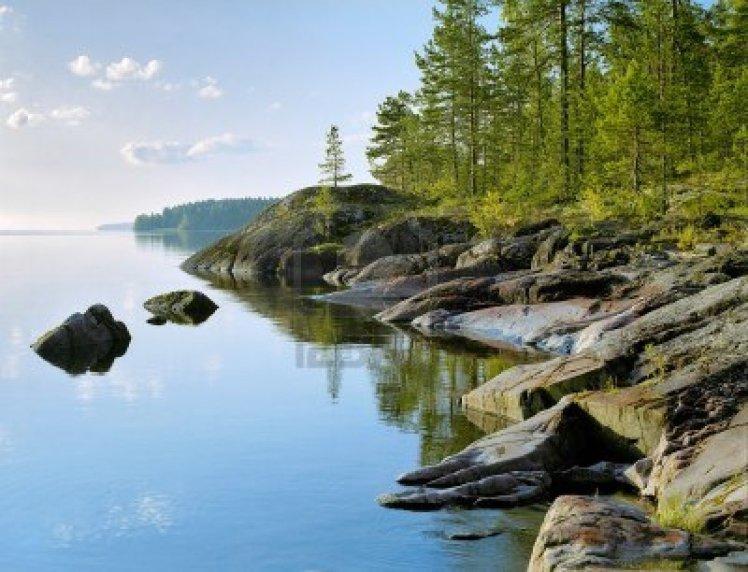 9461674-stony-shore-of-ladoga-lake-russia