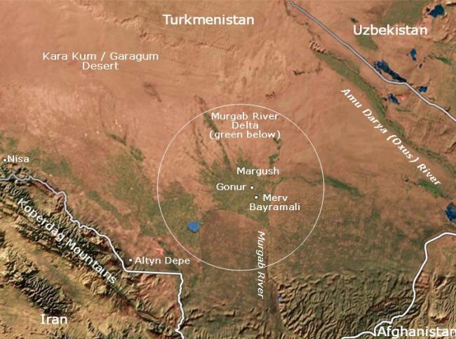 gonurtepe térkép