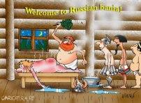 Russian-sauna