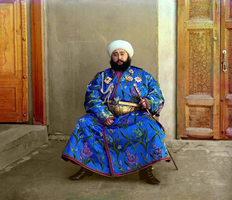 sergei-mikhailovich-prokudin-gorskii-old-color-pictures-of-russia-the-emir-of-bukhara-1911
