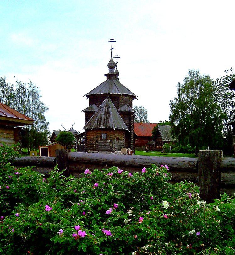 Wooden Church - Suzdal, Russia