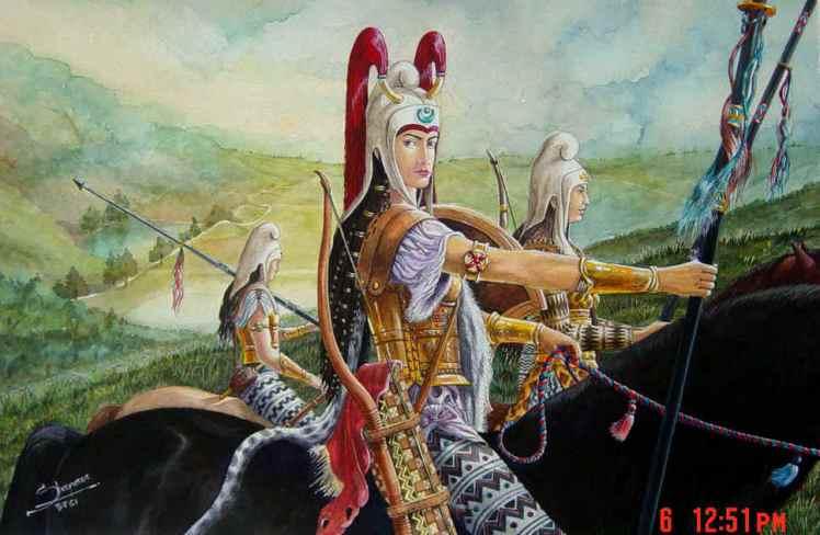 AncientIranianWomenWarriors
