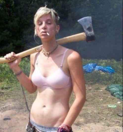 Canadian ax girl
