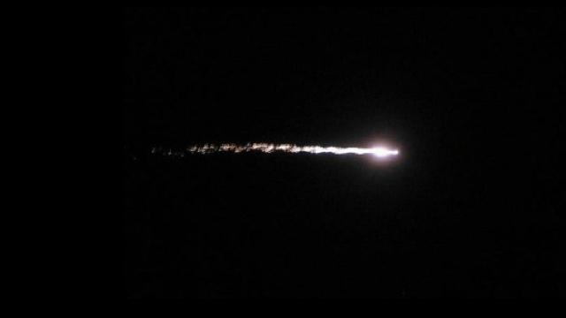 Meteor over California