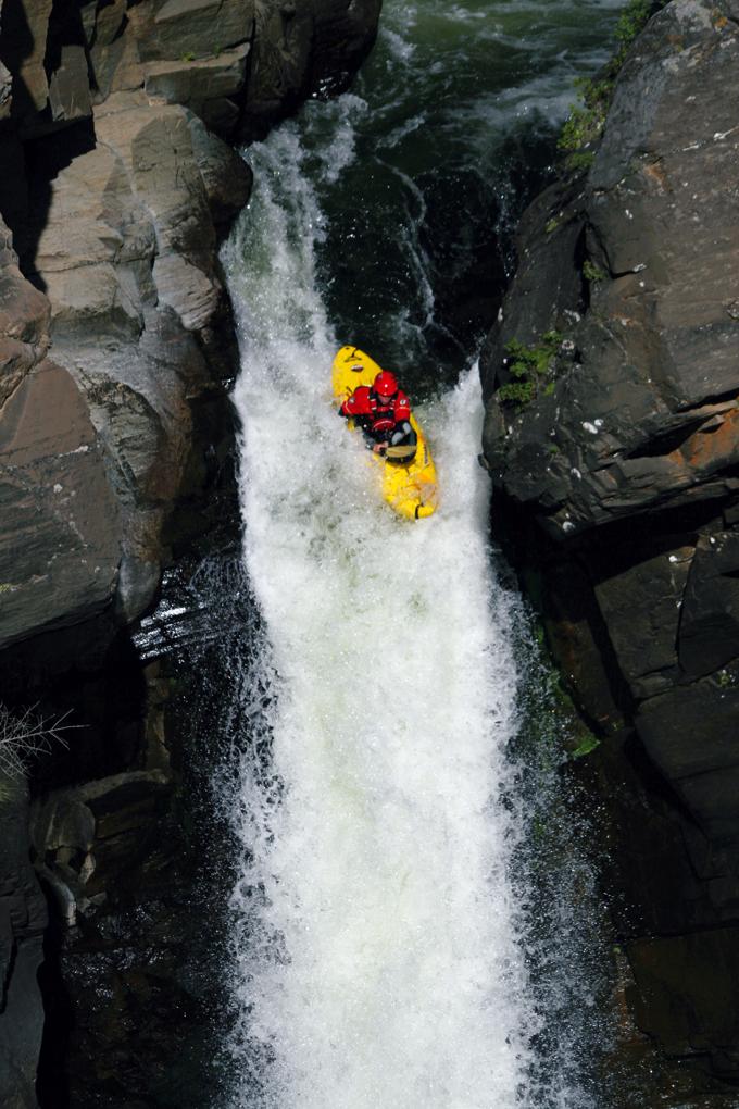 Kayaking the Bashkaus River