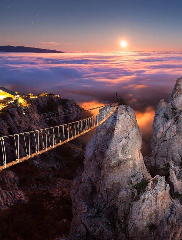 bridge in Crimea