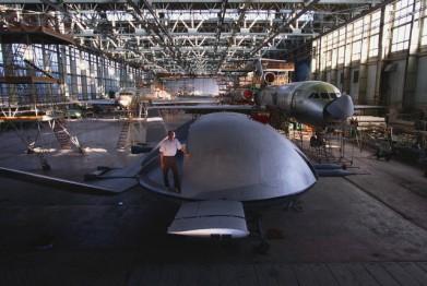 Aircraft in Saratov Aviation Plant