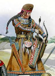 The descendants of the Scythians, words, Roos and Vandal ...