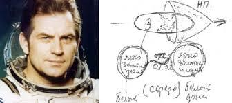 UFO sighting by cosmonaut