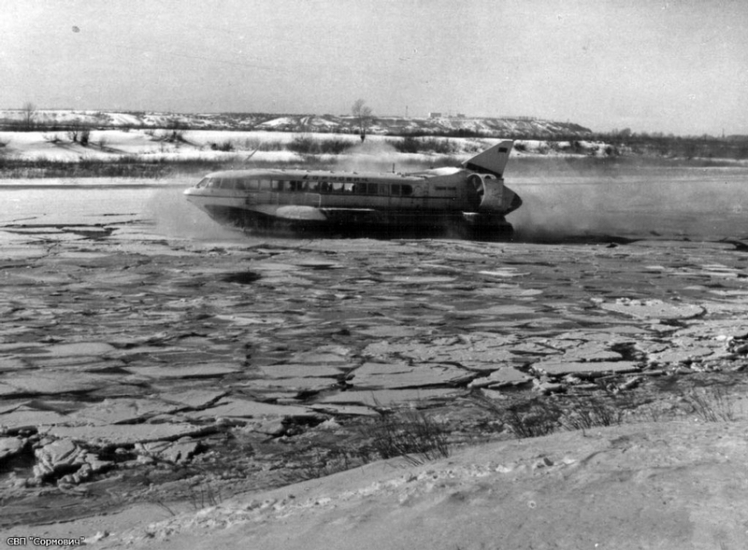 1971 'Sormovich' winter conditions test.