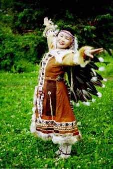 Itelmen dancer
