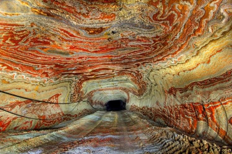 Abandoned Salt Mine