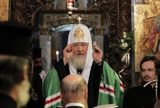 ISRAEL-RUSSIA-RELIGION-CHRISTIAN-KIRILL