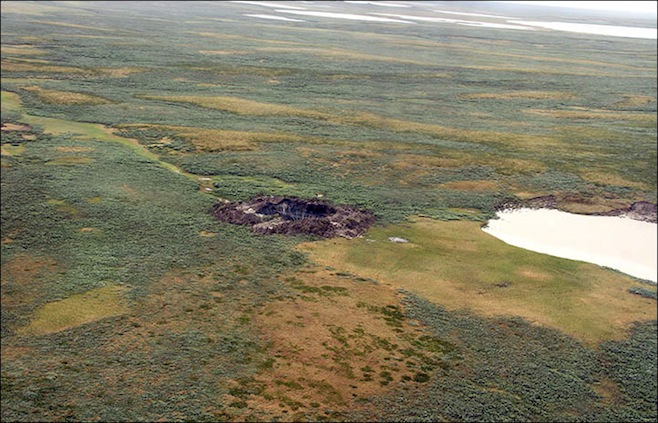 second-mysterious-crater-found-in-Yamal-july-2014