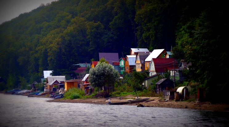 Dachas on the Volga