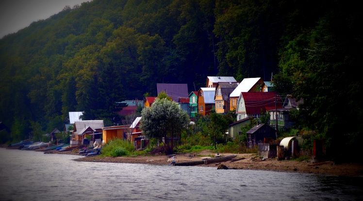 Dachas on the Volga