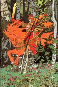 red horseman