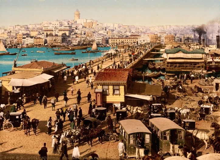 constantinople shrunk copy of 35 b view of galata bridge