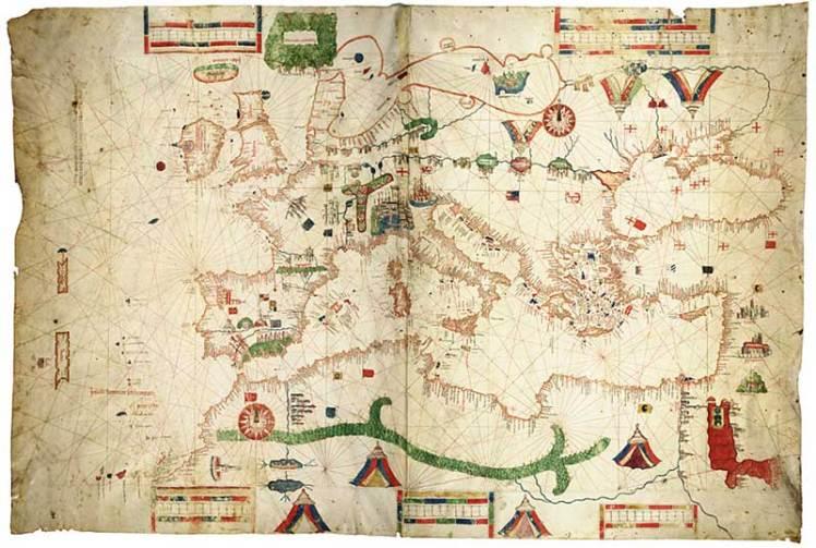 map of Kaffa