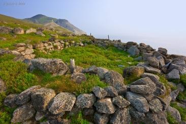 Ancient Chukchi village site, Cape Dezhnev, Chukotka, Russia, Bering Strait