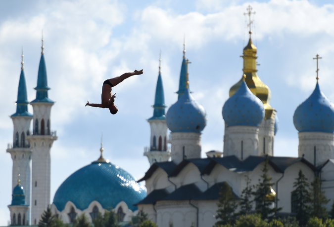High diving - Kazan