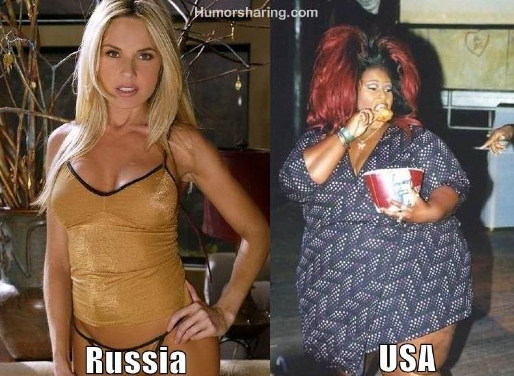 By Russian Woman American