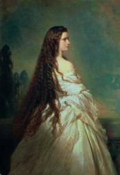 Kaiserin Elisabeth von Osterreich, 1864